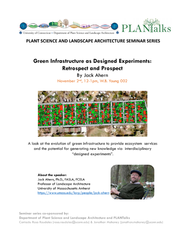 Plant Science and Landscape Architecture › CANR › UConn